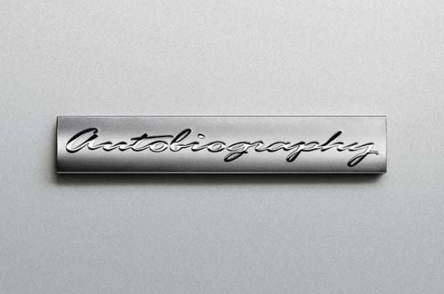 ZNAČILNO ZA AUTOBIOGRAPHY