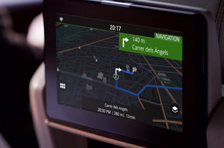 System multimedialny dla pasażerów