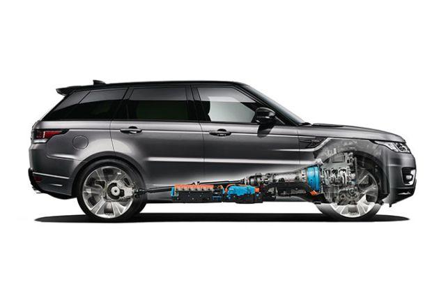 100% Range Rover Sport. 100% hybryda.