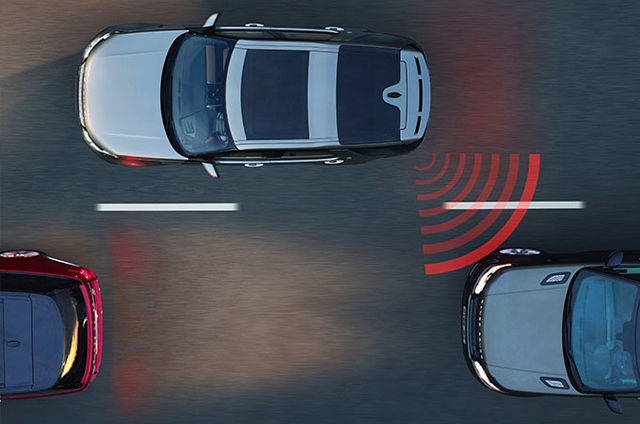 BLIND SPOT MONITOR WITH BLIND SPOT ASSIST AND REVERSE TRAFFIC DETECTION