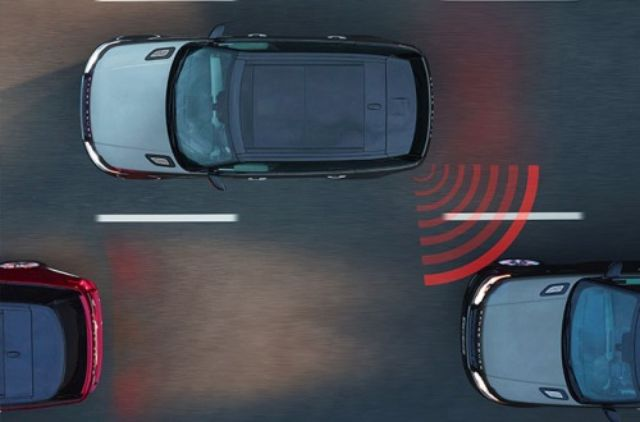 BLIND SPOT MONITOR WITH REVERSE TRAFFIC DETECTION