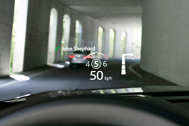 NEW HEAD-UP DISPLAY