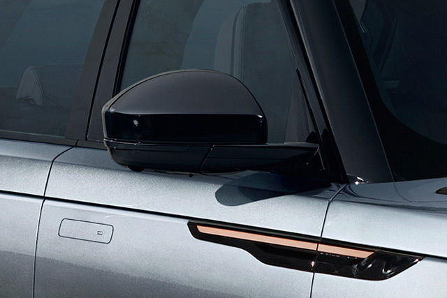 AUTO-DIMMING, POWER FOLD, HEATED DOOR MIRRORS WITH APPROACH LIGHTS