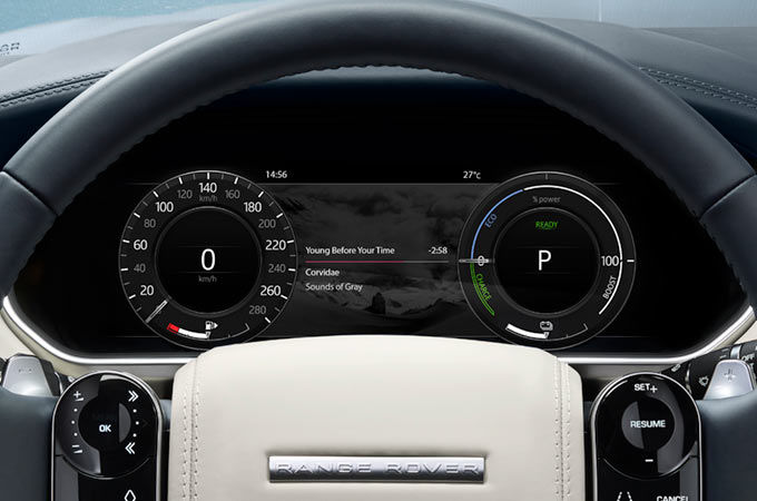 INTELLIGENT PLUG-IN HYBRID DISPLAY